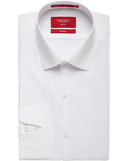 Van Heusen |Formal Marcella Front Slim Fit Shirt Image
