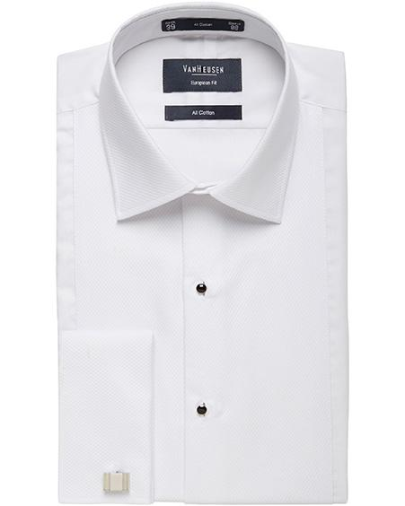 Van Heusen | Semi Spread Collor Cotton Dinner Shirt Image